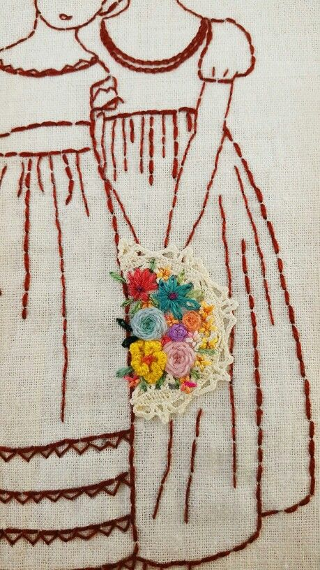 Images about 프랑스자수 on pinterest hand embroidery