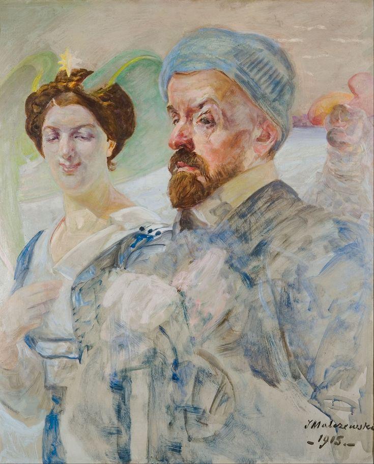 Jacek Malczewski - Self-portrait (1915)