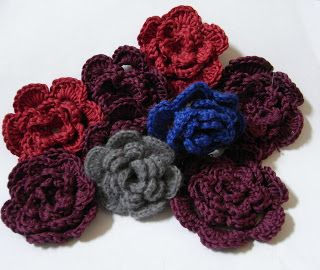 Crotchet flowers