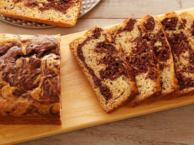 Healthy Marbled Banana Bread