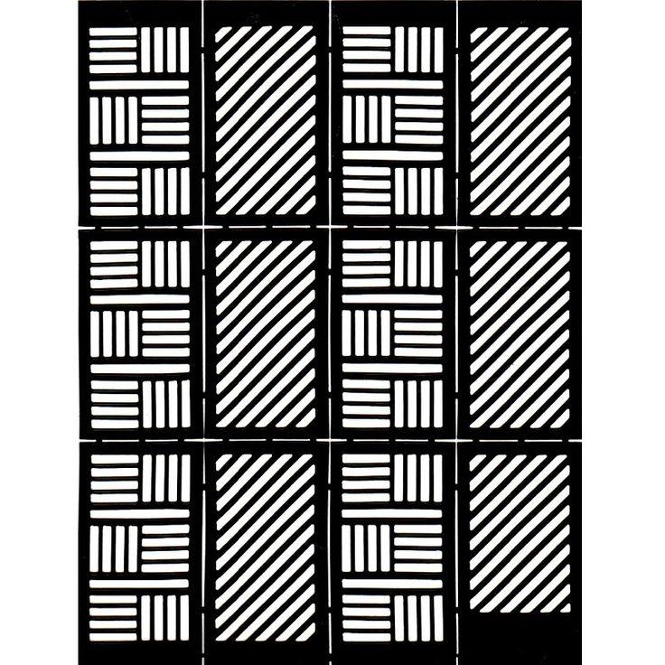 Szablony do malowania wzorów na paznokciach 5 Striped naklejki do paznokci paski 12 szt 5 Striped | Paznokcie \ Akcesoria