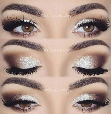 Trendy Makeup Homecoming Silver 50 Ideas