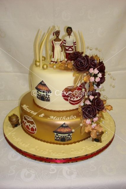 African Wedding Cakes | ... Cakes, 21st Cakes, Corporate Cakes: Gallery: Cakes: African Wedding