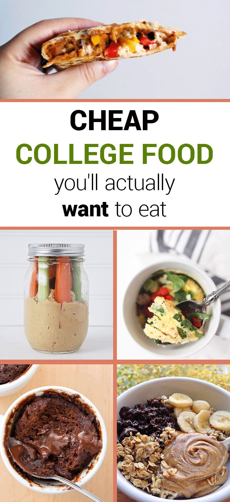 Cheap College Food You'll Actually Want To Eat