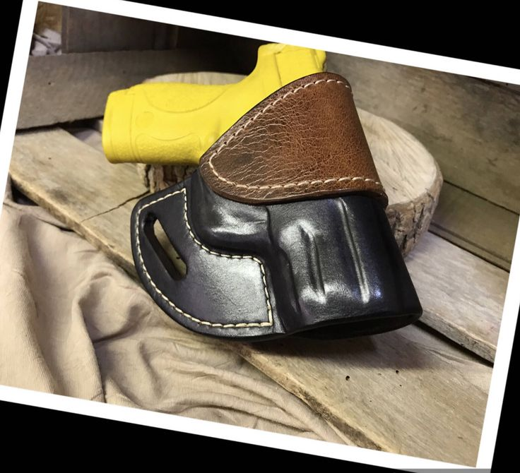 A personal favorite from my Etsy shop https://www.etsy.com/listing/549045539/smith-and-wesson-mp-shield-940-leather