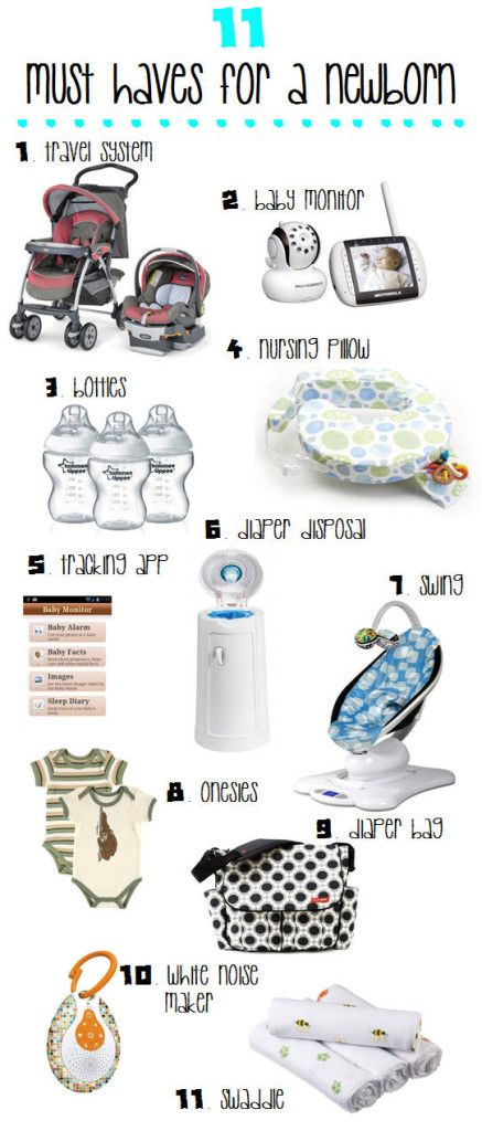The 11 Must Have Accessories for a Newborn http://www.safebabyreviews.com/must-haves-for-newborns/