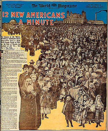 a history of the ellis island in the united states The first immigrant landed on ellis island january 1, 1892 when 15-year-old annie moore arrived here from ireland on this day in 1892, she was the first person to enter the united states through ellis island.