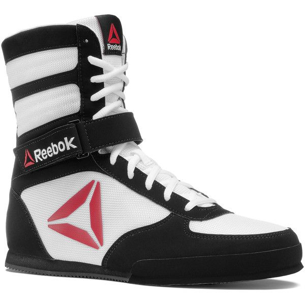 Reebok Boxing Boot - Buck ($100) ❤ liked on Polyvore featuring men's fashion, men's shoes, men's boots, men, shoes, mens nubuck shoes, mens boots, mens shoes and reebok mens shoes