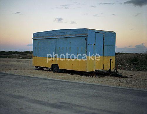 Geschlossener Imbisswagen  Foto: C. Buckstegen