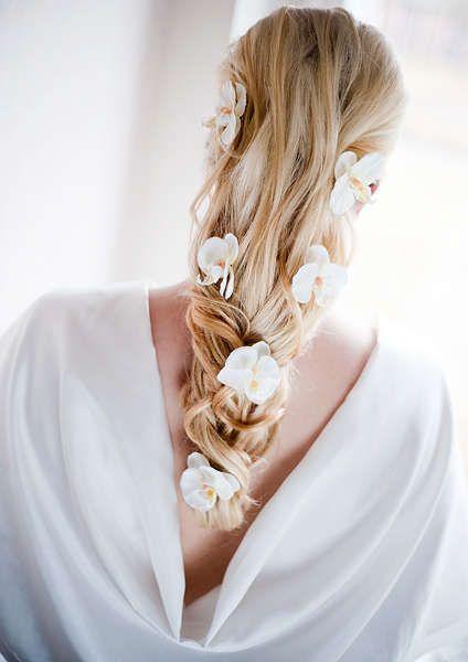 bröllopsfrisyr blommor - Sök på Google