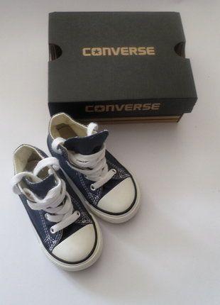 Kaufe meinen Artikel bei #Mamikreisel http://www.mamikreisel.de/kleidung-fur-madchen/sneakers/36871481-converse-kinder-all-star-hohe-sneakers-chucks-in-22