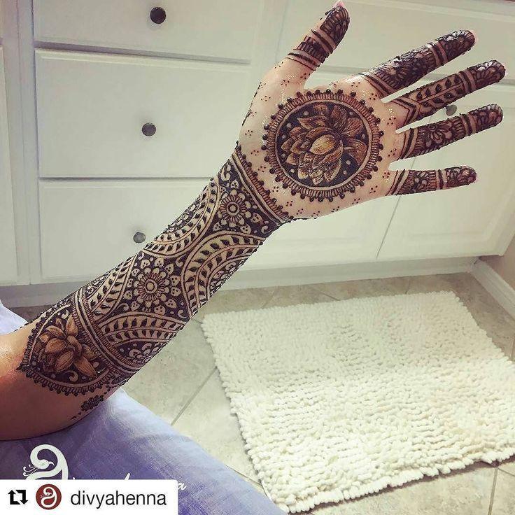 #follow@hennafamily #hennafamily #Repost @divyahenna  #tbt to this #lotusdesign for pawan.  . . .  #bridalmehndi #henna #weddingz #mehndi #weddingsutrasaga #bakersfieldhenna #bridal_dreams #indianweddingsmag #divyahenna #bridalhenna #хна #dulhanmehndi #allthingsbridal #mehndidesign #northridgehenna  #losangeleshenna #losangelesmehndi #LAhennaartist #californiahenna #southasianbridemagazine #lotusmehndi #LAmehndi #LAhenna