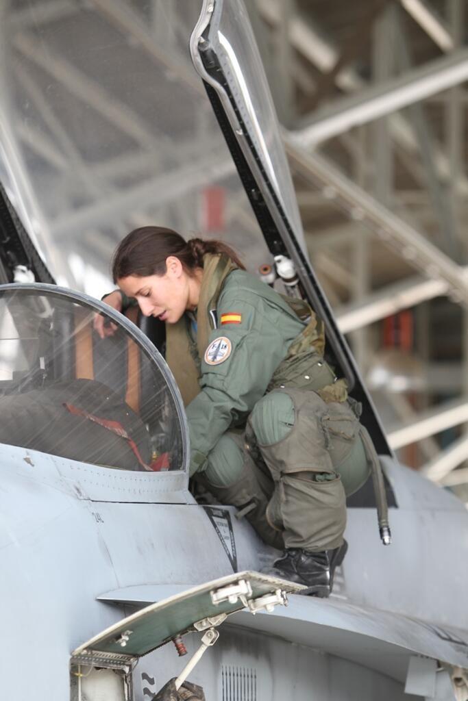 Spanish Air Force pilot