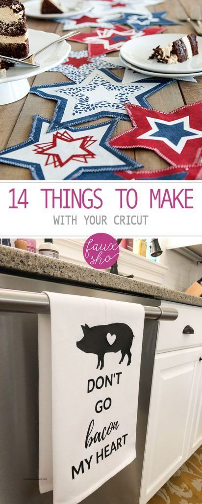 14 Things to Make With Your Cricut| Cricut Crafts, Easy Crafts, Easy to Make Crafts, Cricut DIYs, DIY Home Decor, Fast Crafts, Fast Craft Projects, Popular Pin #CricutDIYs #Cricut