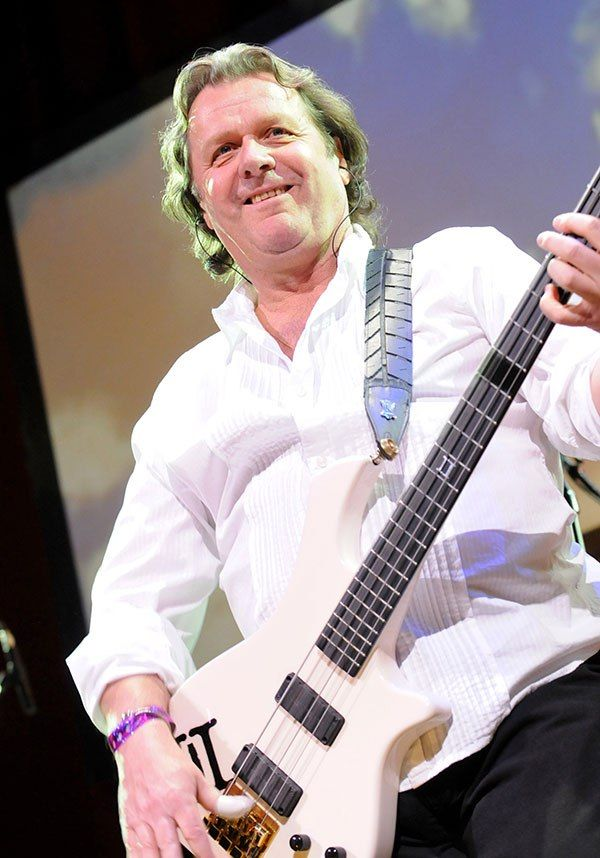 Musician John Wetton died at the age of 67 on January 31, 2017 from lung cancer. He was in the bands Mogul Thrash, Family, King Crimson, Roxy Music/Bryan Ferry, Uriah Heep, and Wishbone Ash. (REX/Shutterstock)
