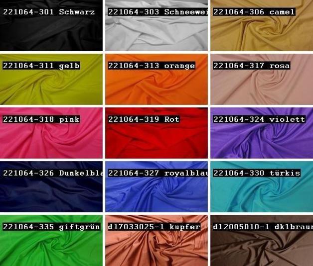 Jersey - % HOCHELASTISCH LYCRA STOFF BADEMODE 15 FARBEN #11 - ein Designerstück von textilgrosshandel24 bei DaWanda