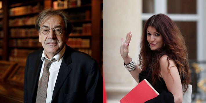 """Alain Finkielkraut reproche à Marlène Schiappa de s'en prendre au """"sexisme"""" de la religion catholique."""