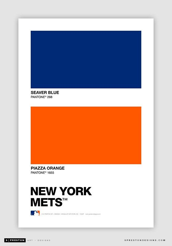 Color Swatch Baseball: Pantone Chips of every MLB team ...