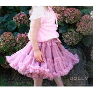 cat princess pettiskirt with fairy top in pink