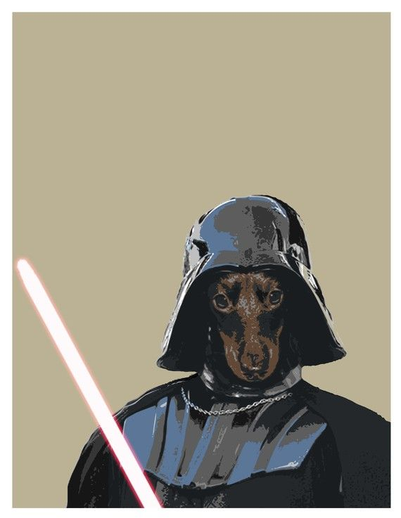 Mini Pincher Darth Vader: Halloween Costume, Darth Vader, Dog Geek, Doberman Pinscher, Dog Art, Min Pin, Starwars, War Dogs
