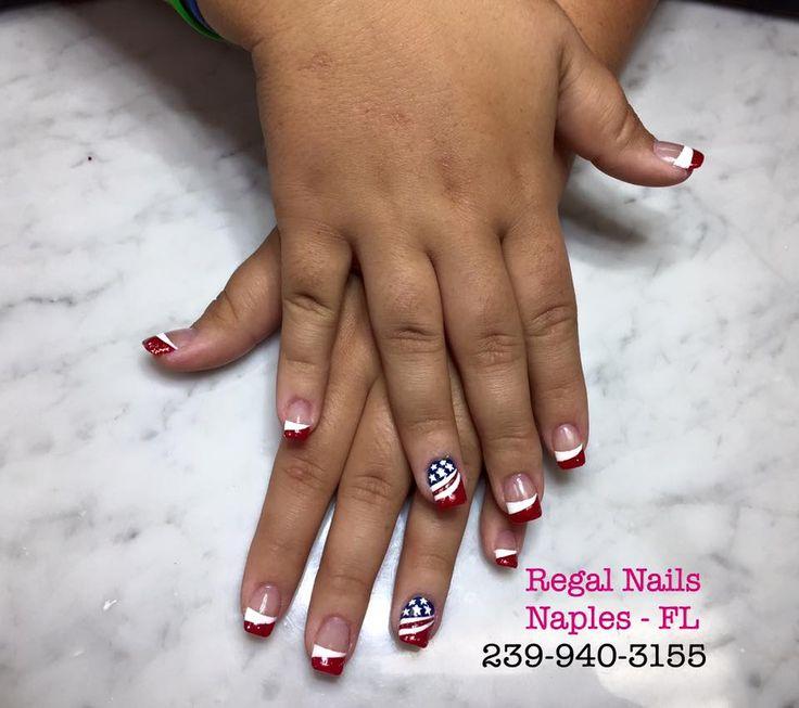 7 best regal nails radio road naples florida images on red white and blue nails red white and blue nail art red white and prinsesfo Gallery
