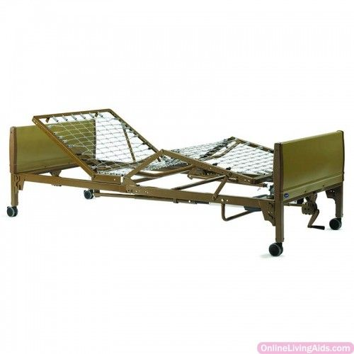 """Invacare - V5310IVC - IVC Semi-Electric Hospital Bed, 88"""" x 15"""" to 23"""" x 36"""""""