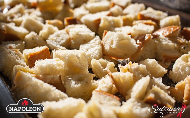 Sourdough Bacon Stuffing Perfect for turkey dinners