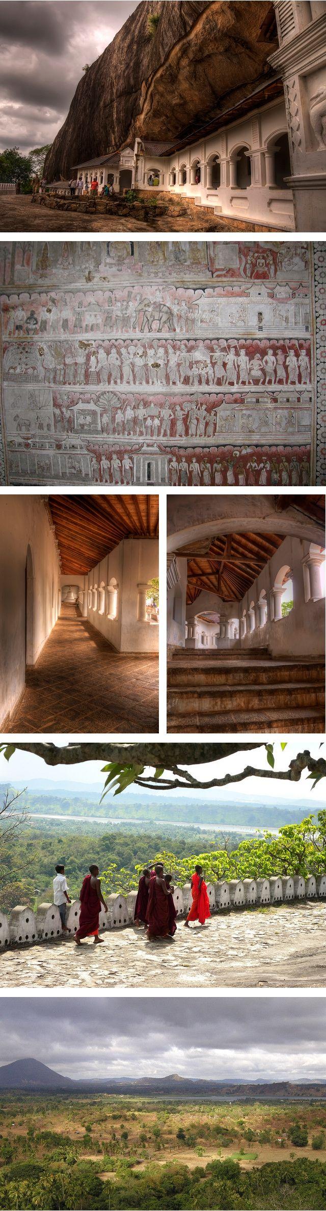 Cave Temple, Dambulla, Sri Lanka (www.secretlanka.com) #SriLanka #Dambulla #Temple #Buddhism