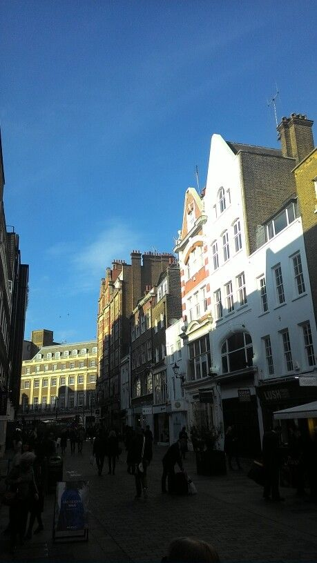 London Sky in november