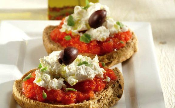 Try now our Cretan rusks collection! Wheat, rye and barley rusks made in Chania, used to make the famous Cretan meze ntakos - rusk with tomato and feta cheese with extra virgin olive oil and oregano. http://agoragreekdelicacies.co.uk/online-shop/4570272291/Rusk-bread
