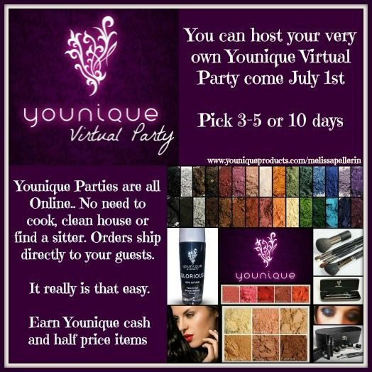 The 99 best younique hostess presenter images on pinterest alright canada the countdown is on july 1st you can host your very own solutioingenieria Gallery