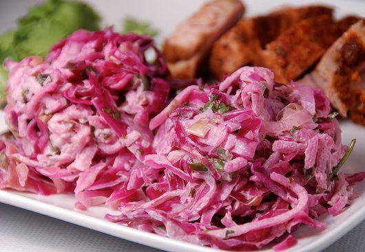 Салат из красной капусты - Подборка кулинарных рецептов салата из