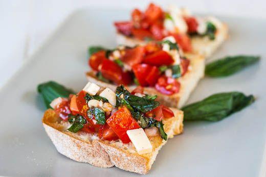 Easy & Yummy Bruschetta