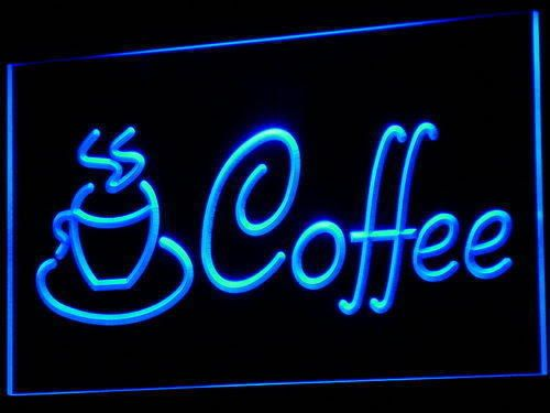 433 Coffee Cup Shop Cappuccino Cafe Neon Light Sign