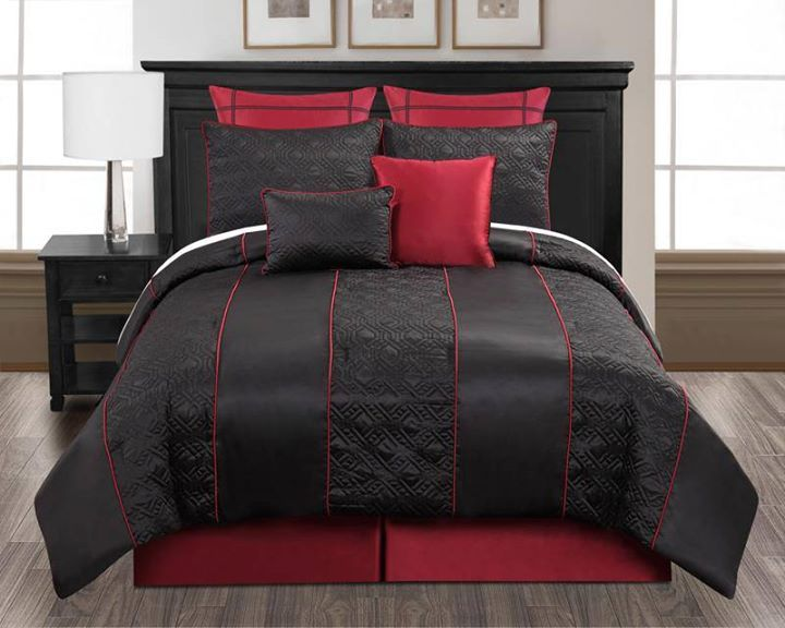 16 Best Red Comforter Sets Queen Images On Pinterest Bedrooms Beds And Bedroom Ideas