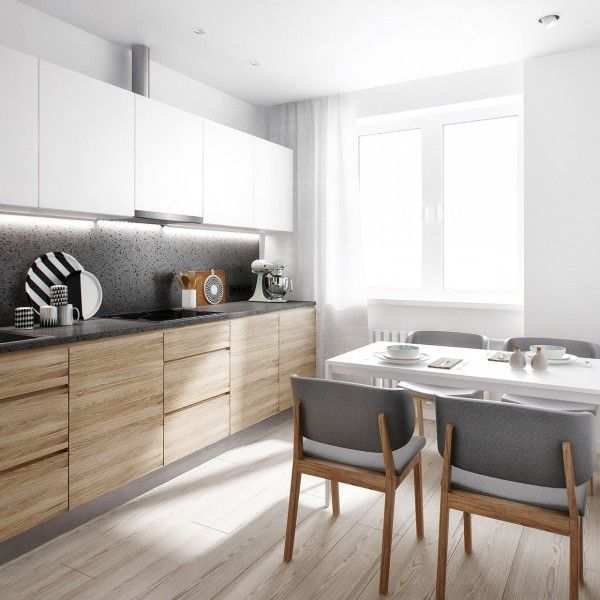 Modern Wood Kitchen 81 best white+wood| modern kitchen design ideas images on