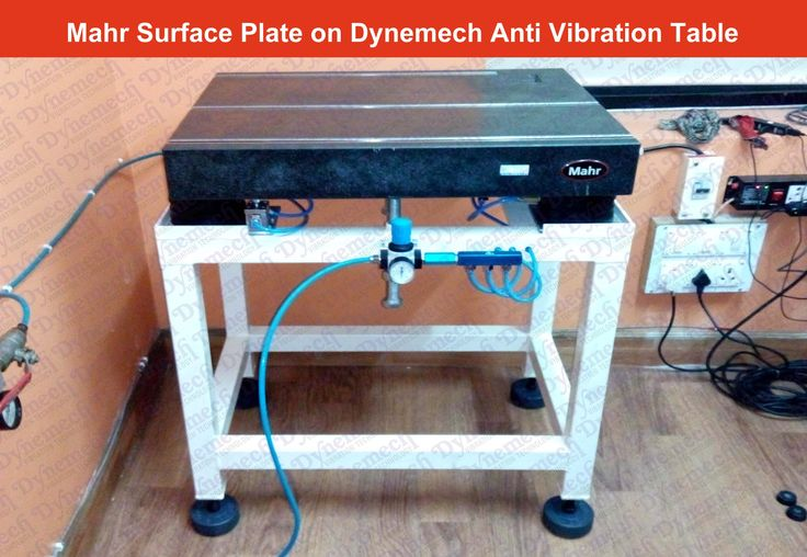 control #vibrationtransmission to  #surfaceplates .Want to know how ? demo Dynemech Systems Booth b106 hall c-3 #imtex2017