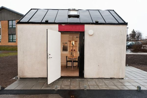 Tiny student house in Sweden | Home Design
