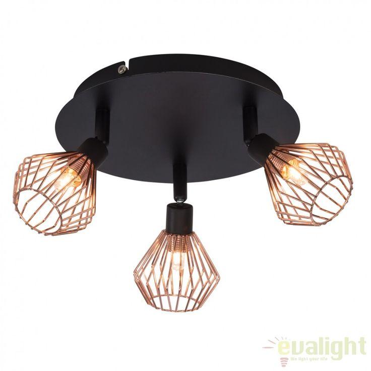 Lustra aplicata design modern minimalist Dalma 21034/76 BL - Corpuri de iluminat, lustre, aplice