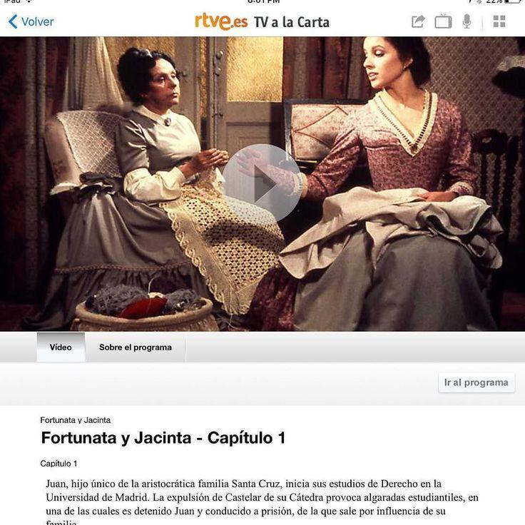#InstagramELE #ConBuenPie  Nuestra clase de literatura ha empezado con buen pie. Estamos leyendo Fortunata y Jacinta y también viendo la serie de RTVE que ahora tiene subtítulos en español. Muy recomendable.