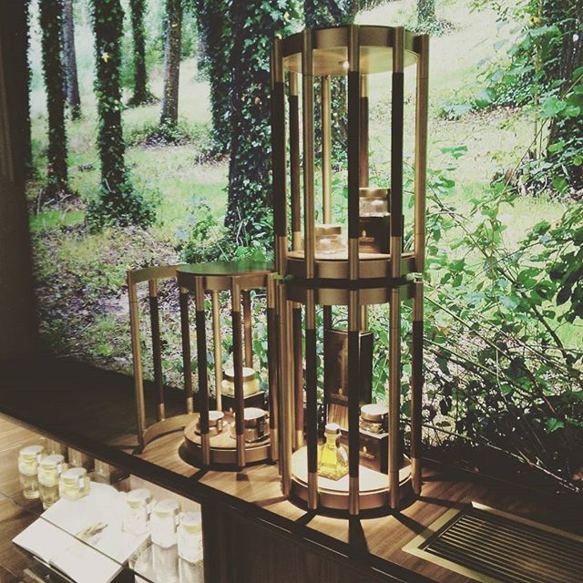 Trunk case #savinitartufi by #emporioorenga. #trufflexperience #retaildesign #design #woodesign #bronze #nhhotel #firenze
