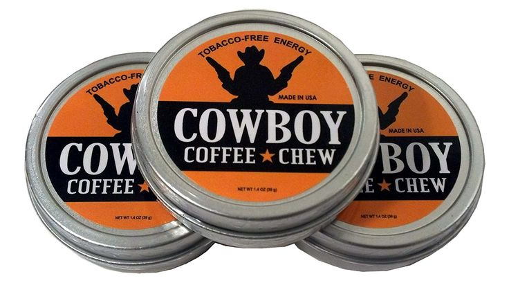 Cowboy Coffee Chew (Pack of 3) Quit Chewing Tin Can Non Tobacco Nicotine Free Smokeless Alternative to Dip Snuff Snus Leaf >>> Visit the image link more details.