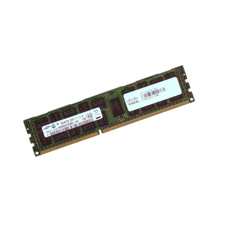 16GB DDR3 1066MHz PC3L-8500R ECC Registered 15-13131-01 CL7 240pin 4Rx4 Cisco Server Memory Module
