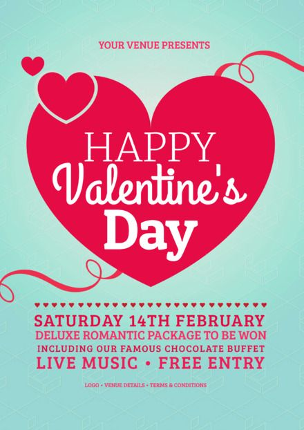38 best Valentine\'s Day DIY Graphic Design Templates images on ...