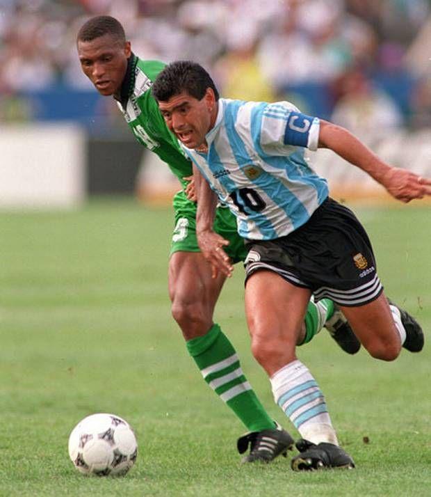 LEYENDAS DEL FÚTBOL. Diego Armando Maradona, Selección #Argentina.