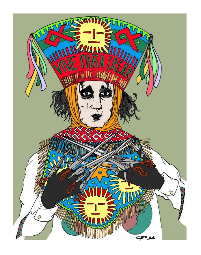 Edward   https://www.behance.net/gallery/10524395/Edward-el-joven-danzante-manos-de-tijeras