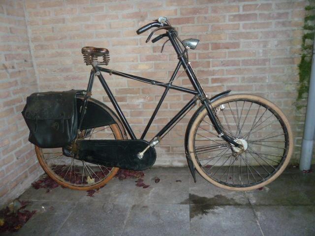Verbazingwekkend Mijn eerste oude fiets: 1953 Gazelle kruisframe - Vereniging De TS-92