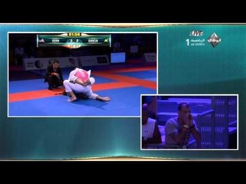 Mackenzie Dern Vs Gabi Garcia Abu Dhabi World Pro 2015 Open Class Semi Final - YouTube