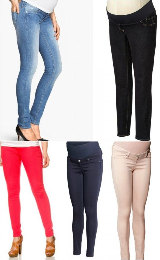 The best maternity jeans for curvy girls ~ www.blahnikbaker.com