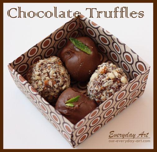Best 10+ Truffle boxes ideas on Pinterest | Diy paper box, Origami ...